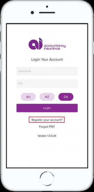 Phone-screen-login CA