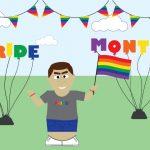 Tax Man celebrating pride month